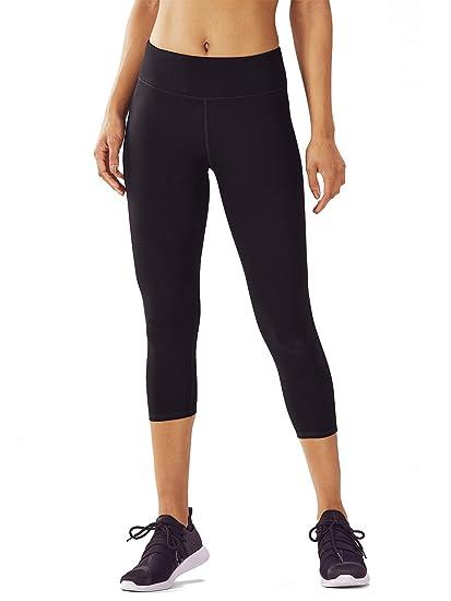 dh Garment Legging Sport Femme Pantalon Yoga avec Poche Taille Haute  Amincissant Coton - Noir ( 95f98472497