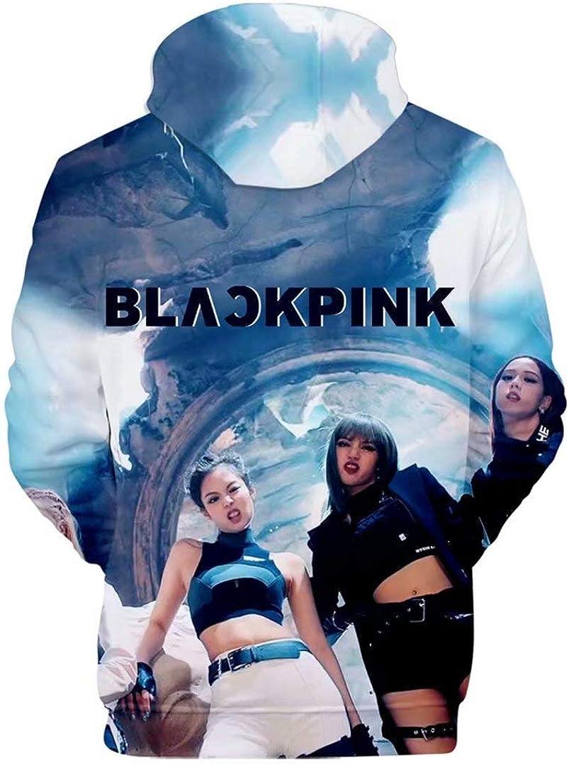 CHAIRAY Blackpink 3D Print Hoodie Lisa Rose Jennie Jisoo Sweater Jacket