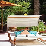 Brand New Christopher Knight Home Marrakech Sunbed with Canopy stand up Outdoor Patio furniture Discounted