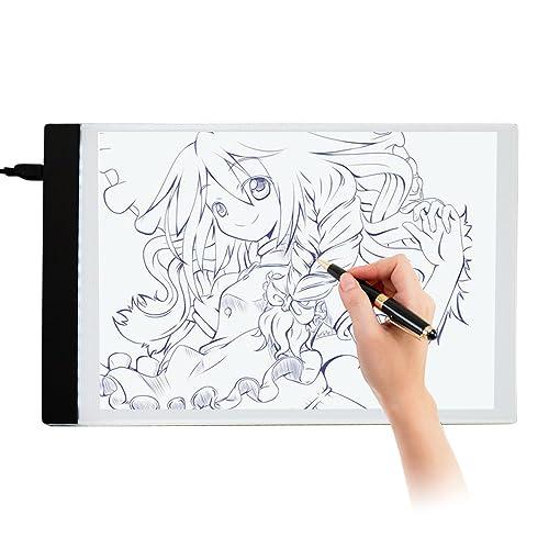 Ultra-thin LED A4 Light Box Display Pad Drawing Board Stencil Artist Art Tracing Tatto Table