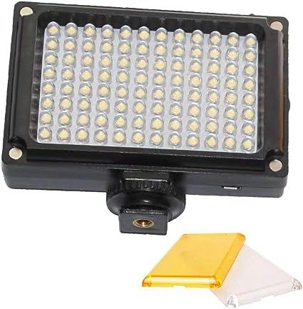 96 LED luz de Video portátil Selfie luz de Relleno proyector con ...