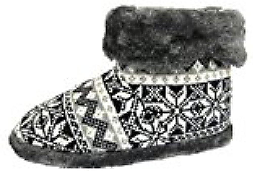 Dunlop Snugg Warm Fairisle Print - Botas para hombre