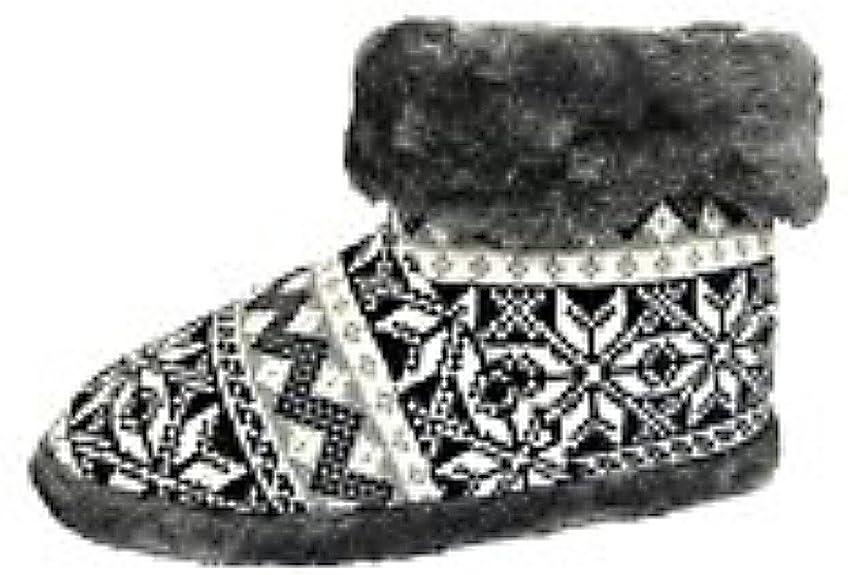 Dunlop Snugg Warm Fairisle Print - Zapatillas para hombre