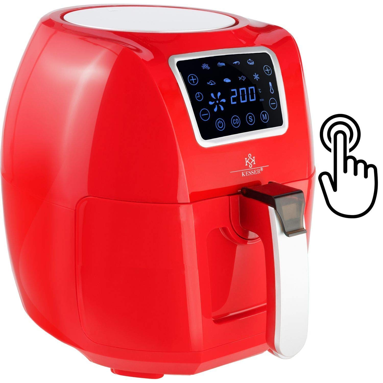 kesser® XXL 5,5 litros freidora de aire caliente freidora | Incluye Panificadora cesta | 1700 W T - Rot: Amazon.es: Hogar