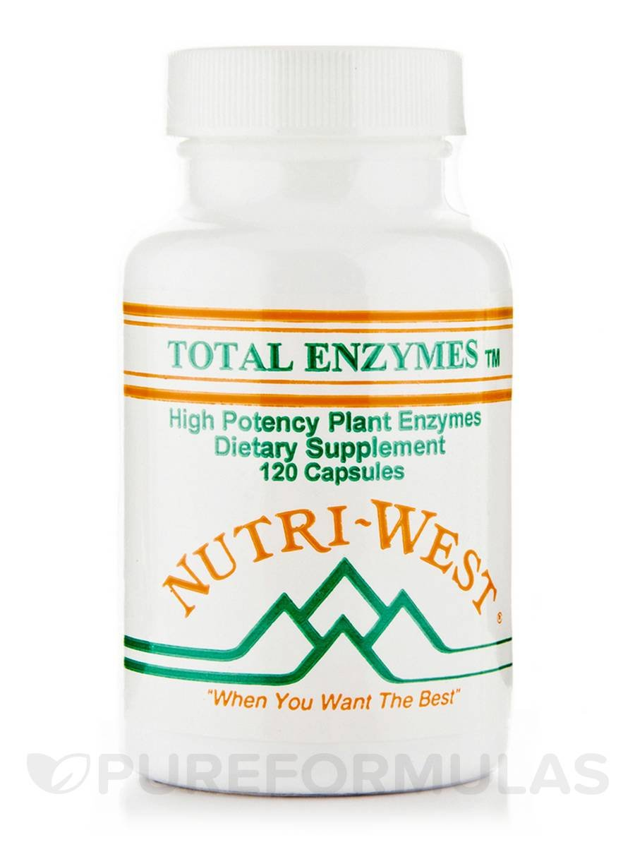 Nutri-West - TOTAL ENZYMES - 120: Amazon.es: Salud y cuidado ...