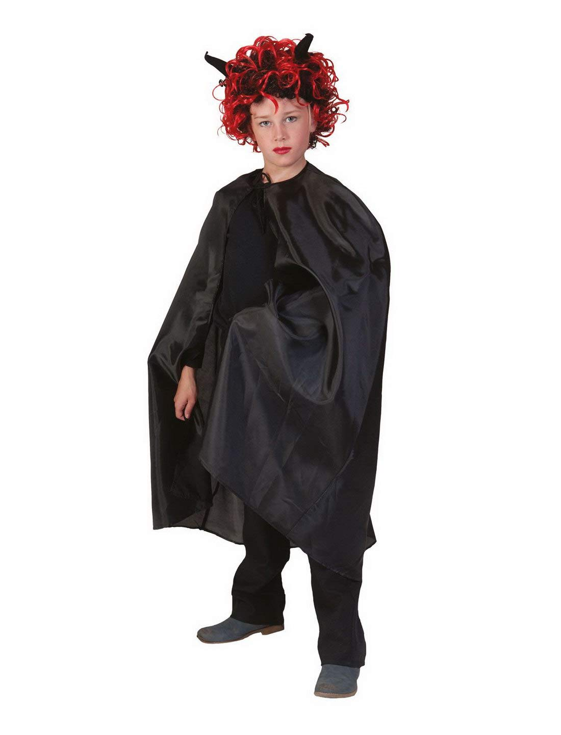 costumebakery - Disfraz Infantil Teufel Vampiro Drácula Capa, Cape ...