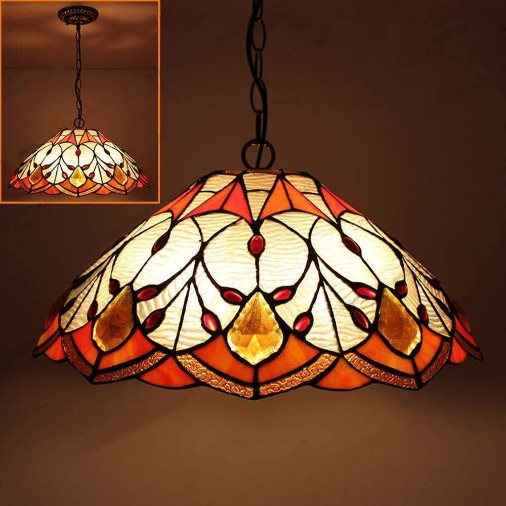 DALUXE Durante la luz. Lámpara Colgante de ágata Tiffany-Estilo. jardín Creativo en el Colorido Llama Techo de Cristal Cortina 1 al Dormitorio Habitación Familiar