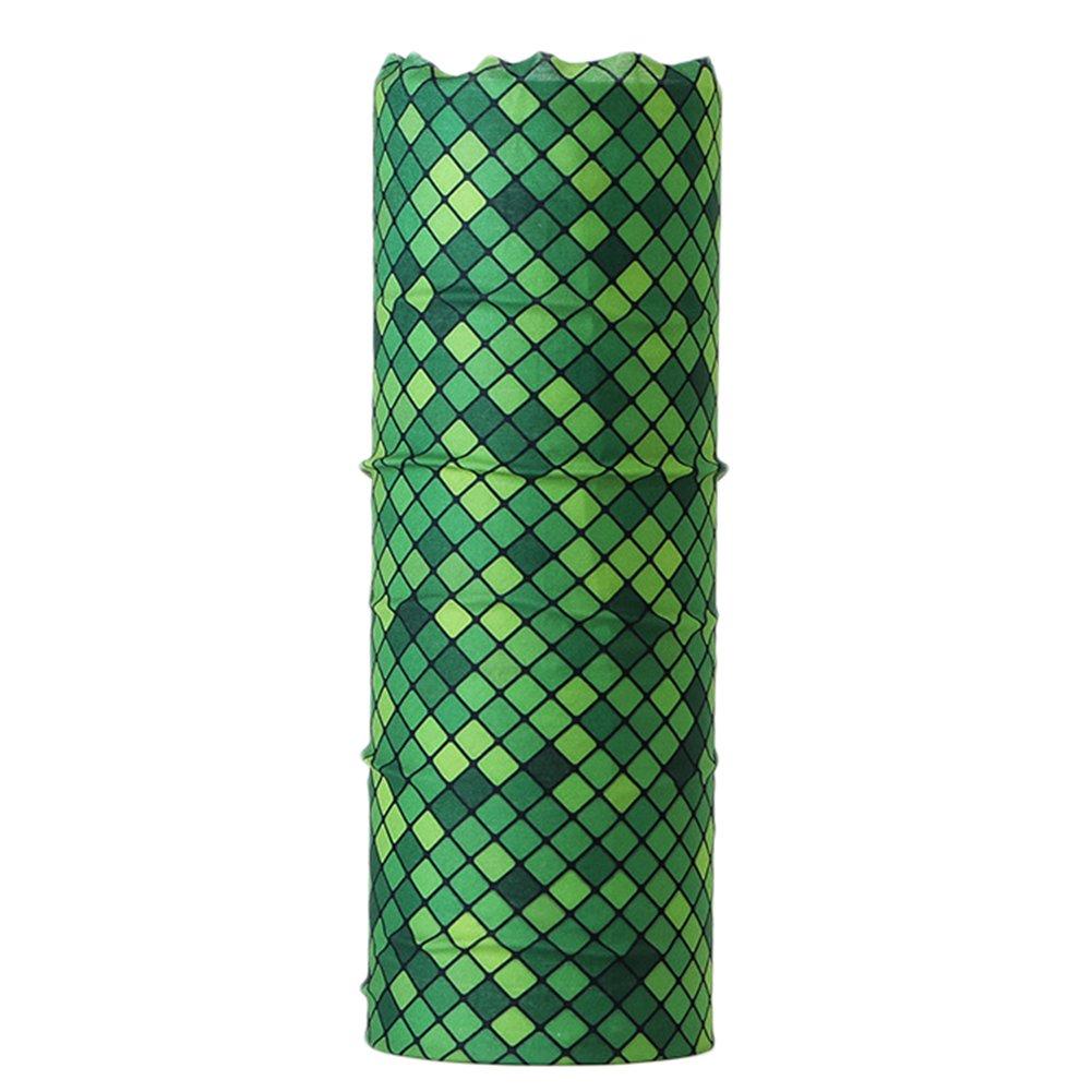 Nikgic Multifunktionstuch Schlauchschal Schlauchtuch Sport Schal Haarband Kopftuch Halstuch aus Polyester