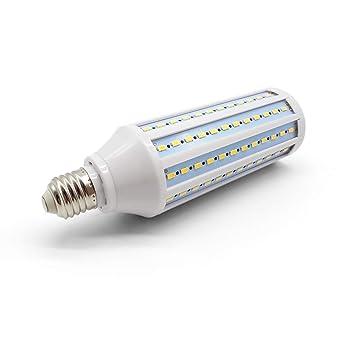 HQT Bombilla LED E27, 30W Bombilla de maíz blanco cálido 360 °, AC185-