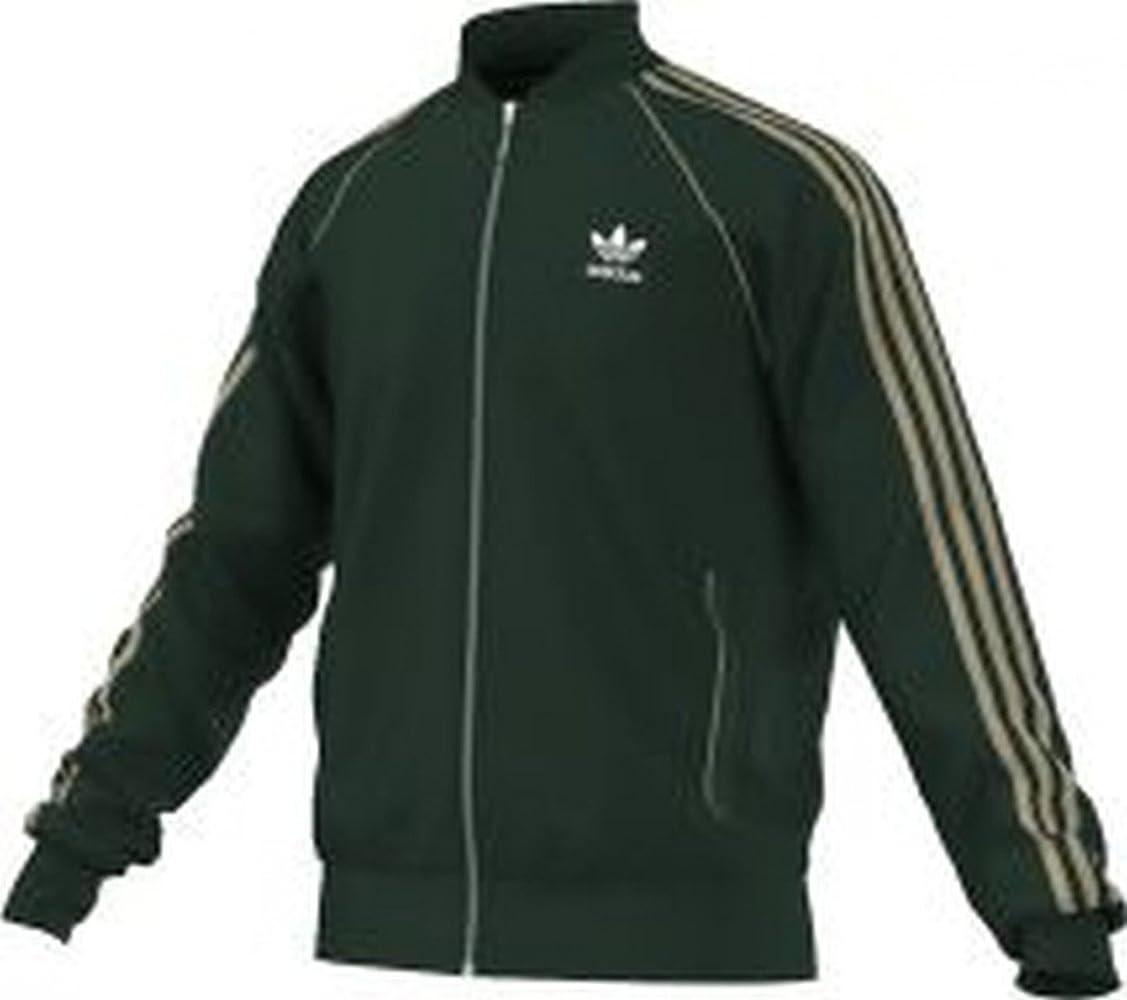 adidas SST TT - Chándal para Hombre, Color Verde/Beige, Talla XS ...