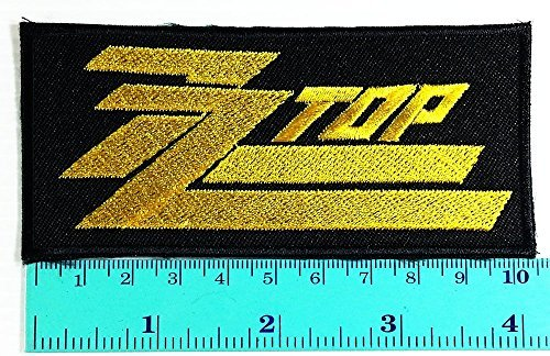 zz top Music Band logo Heavy Metal Punk Rock Jacket T Shirt Patch Sew Iron on Embroidered Symbol Badge Cloth Sign (Music Idol Costumes)