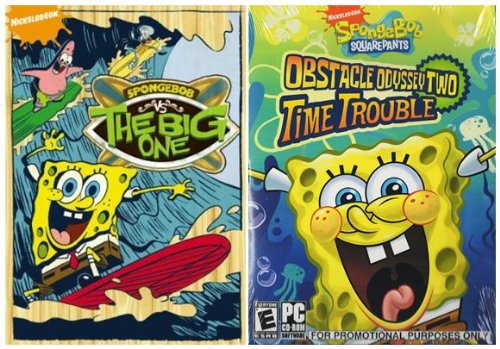 SpongeBob SquarePants: SpongeBob vs. the Big One / Obstacle Odyssey Two: Time Trouble (PC Game)