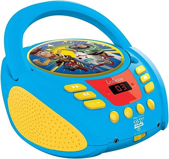 Lexibook Disney Toy Story Buzz Woddy Radio CD