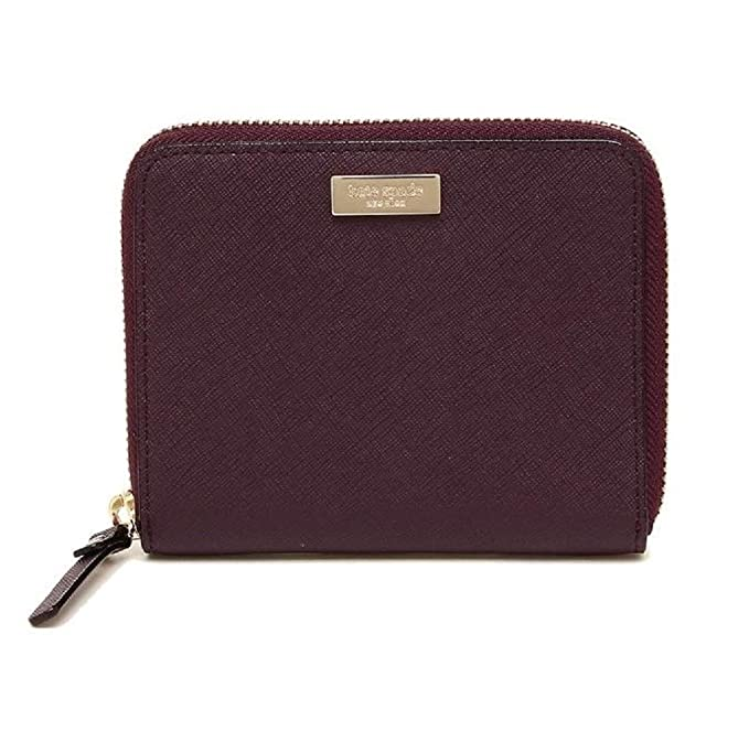 Amazon.com: Kate Spade Laurel Way Darci Deep Plum Small Zip ...