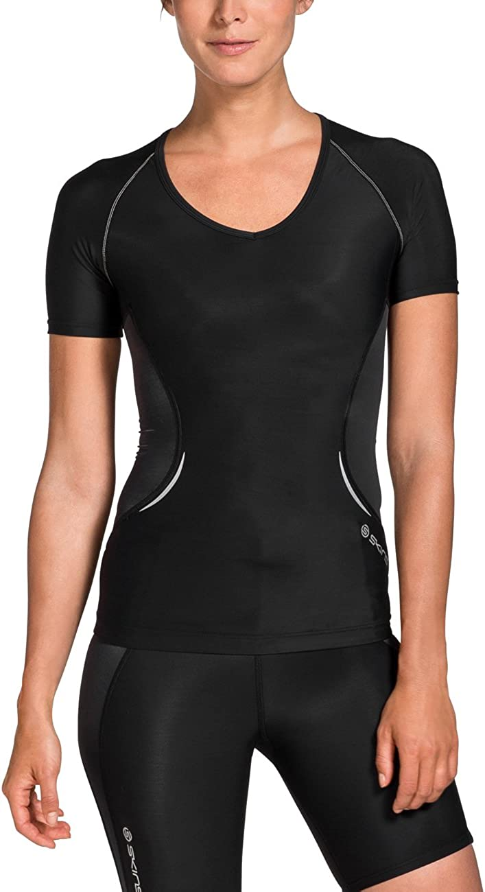 Skins Womens A400 Short Sleeve Compression Top