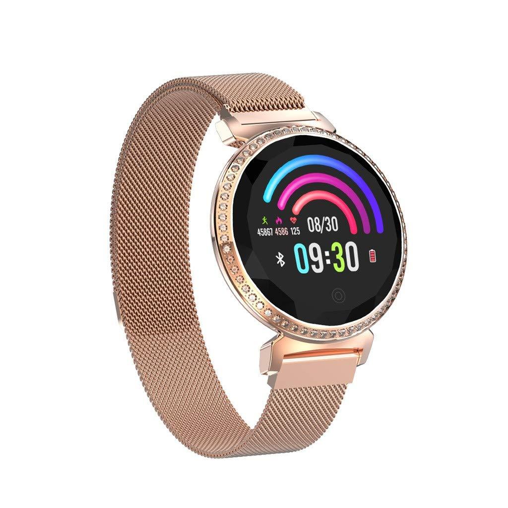 YEZIJIN MC11 Luxury Women Heart Rate Blood Pressure Sleep Monitoring Smart Watch Bracelet Under 50 Dollars