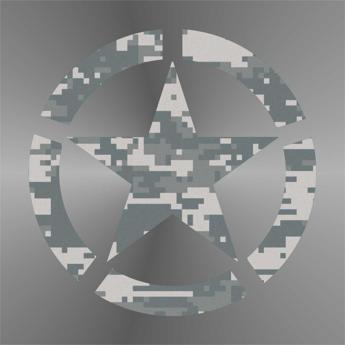 Sticker Stella Militare Military Star Milit/är Sterne estrella de los militares /étoiles militaire Decal Cars Motorcycles Helmet Wall Camper Bike Adesivo Adhesive Autocollant Pegatina Aufkleber cm 10