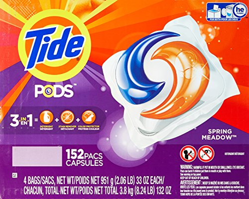 Tide Spring Meadow Pods, 152 Count