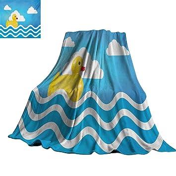 Amazon.com: Cubo de goma, manta suave y ligera, color ...