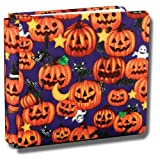 Collected Memories 8-Inch by 8-Inch Premium Post-bound Fabric Covered Scrapbook Album, Halloween