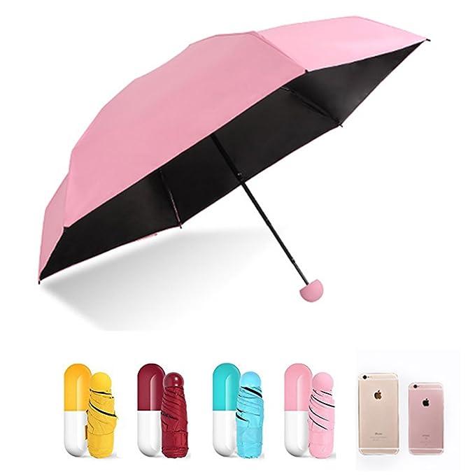 Výsledok vyhľadávania obrázkov pre dopyt Vetruvzdorný skladací dáždnik - kapsula