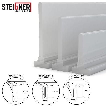 Steigner Guarnizione In Silicone Per Doccia 250cm Sdd02 T 14