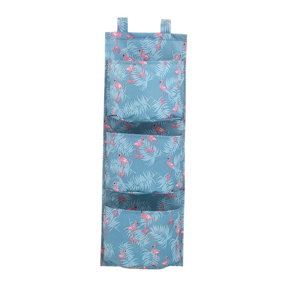Creaon Storage Hanging Bag Durable Waterproof Wall Door Foldable Multifunctional Large Capacity Storage Bag for Bedroom and Bathroom(Colorful)