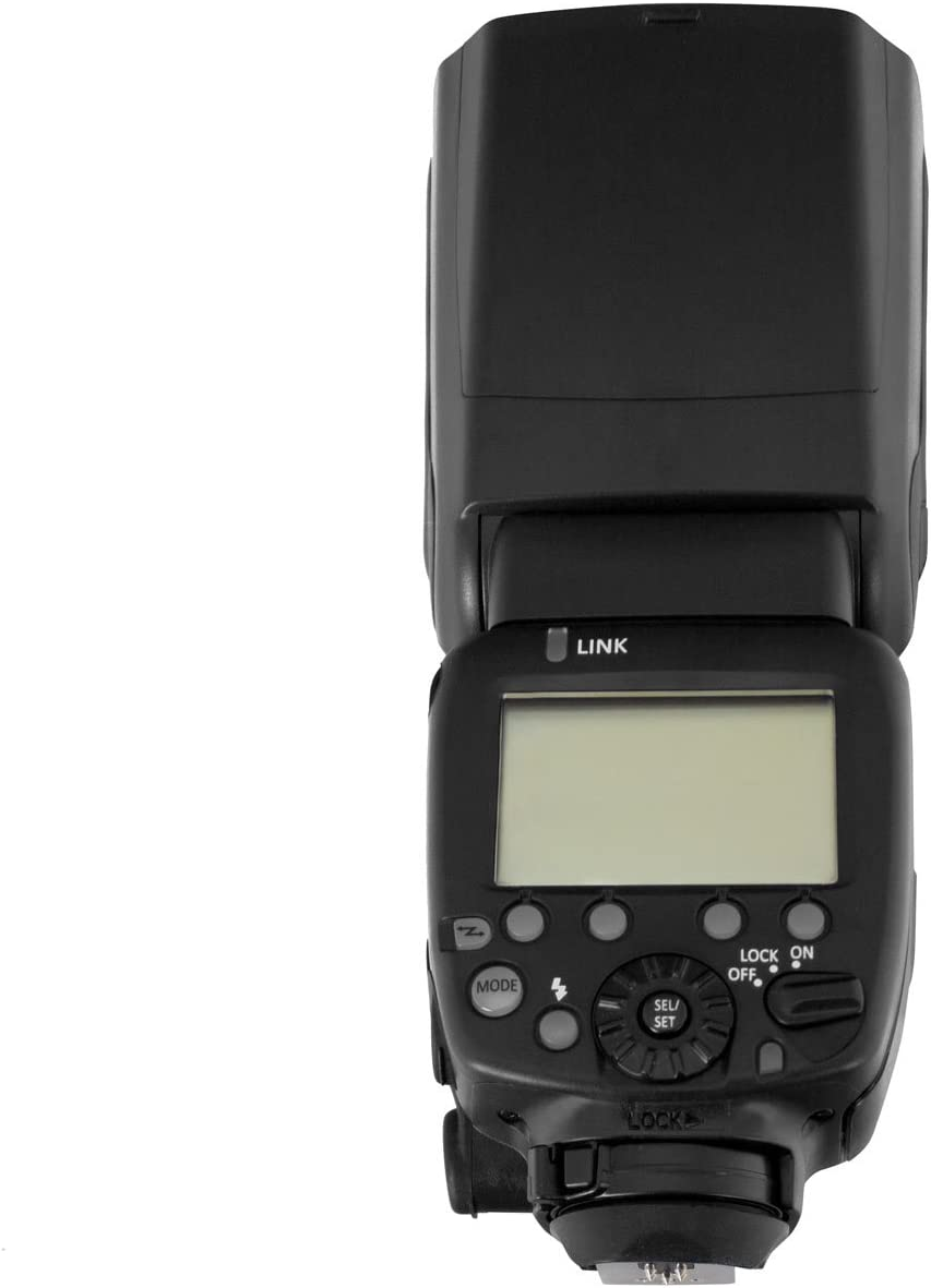 LDC Display Works with Digital SLR Cameras 2.45G Wireless Aperous Compatible with Canon Camera Flash Speedlite