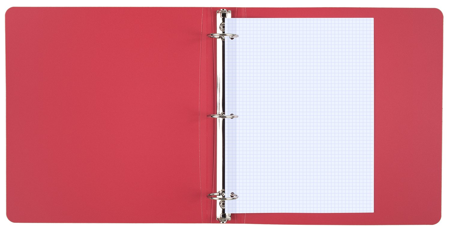 Mead Filler Paper, Loose Leaf Paper, Graph Ruled Paper, Q4, 100 Sheets, 10-1/2'' x 8'', Reinforced, White, 3 Pack (38040) by Mead (Image #4)