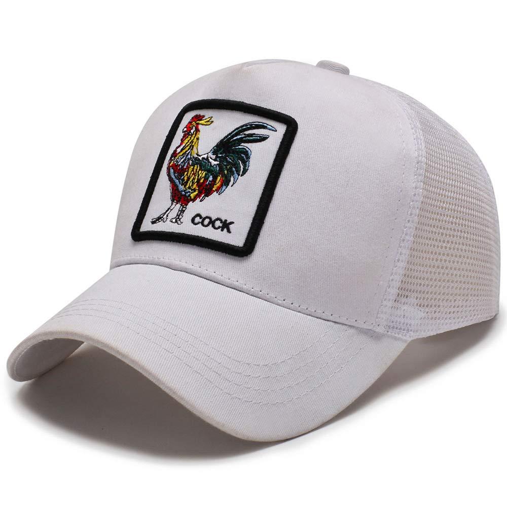 zhuzhuwen Producto Nuevo Sombrero de Gallo Bordado Animal Gorra de ...
