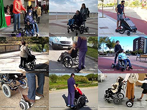 Amazon.com: Adaptador para silla de ruedas Hoverboard ...