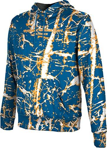 Men's Wyoming Air National Guard Military Distressed Hoodie Sweatshirt (Apparel)