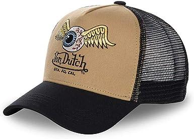 Von Dutch - Gorra de béisbol - para Hombre marrón Talla única ...