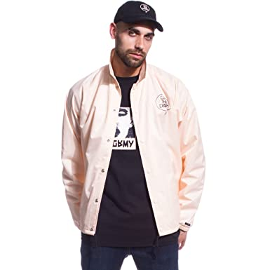 Grimey Chaqueta Cut The Crap Coach Jacket FW17 Peach: Amazon.es: Ropa y accesorios