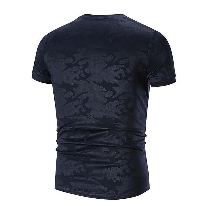 Camiseta para Hombre, Camisas Hombre Camisas de Moda de Verano para Hombres Camiseta de Manga