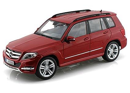 Maisto Mercedes Benz Glk Class Suv, Red Scale Diecast Model Toy Car