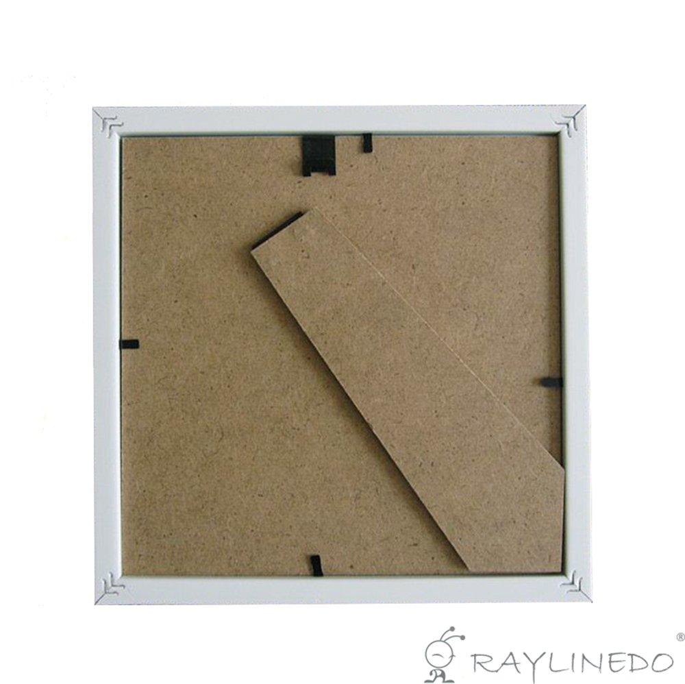 RayLineDo - Marco para fotos blanco con profundidad, para objetos 3D ...