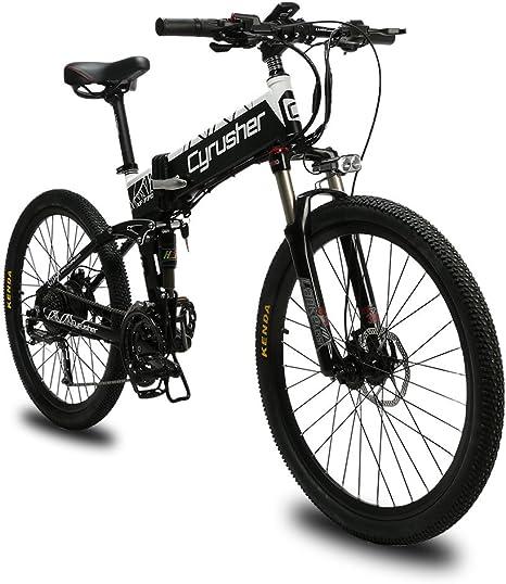 Extrbici Bicicleta Eléctrica Plegable Montaña Hombres Adultos MTB ...