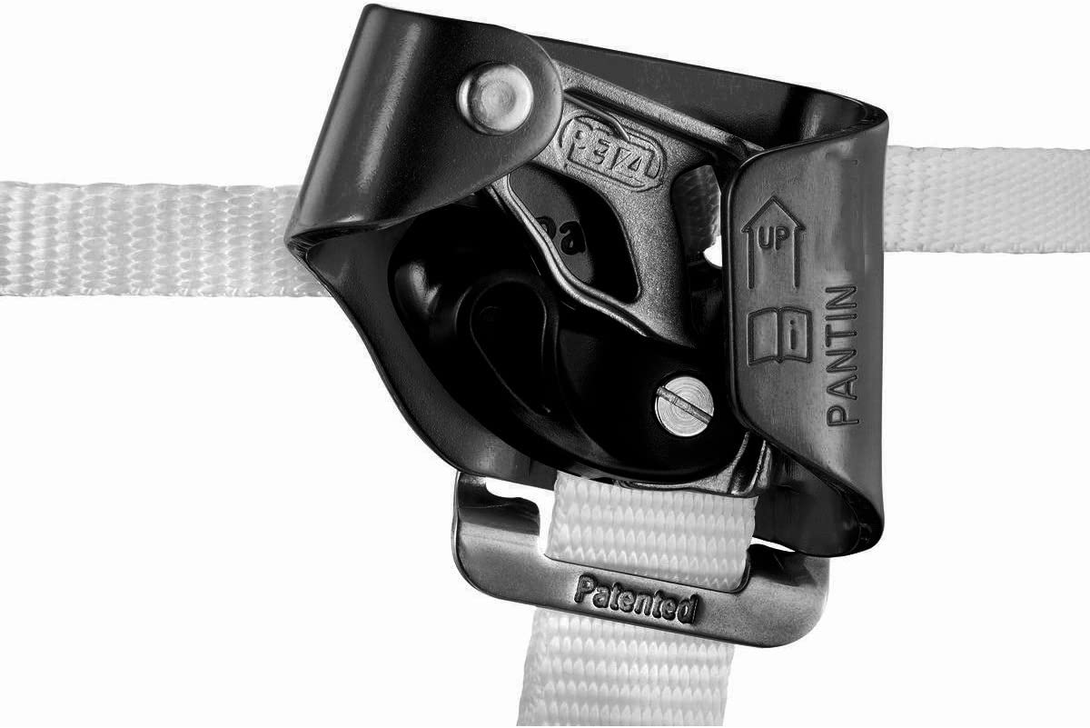 Amazon Com Petzl Pantin Left Foot Ascender With Catch Sports Outdoors