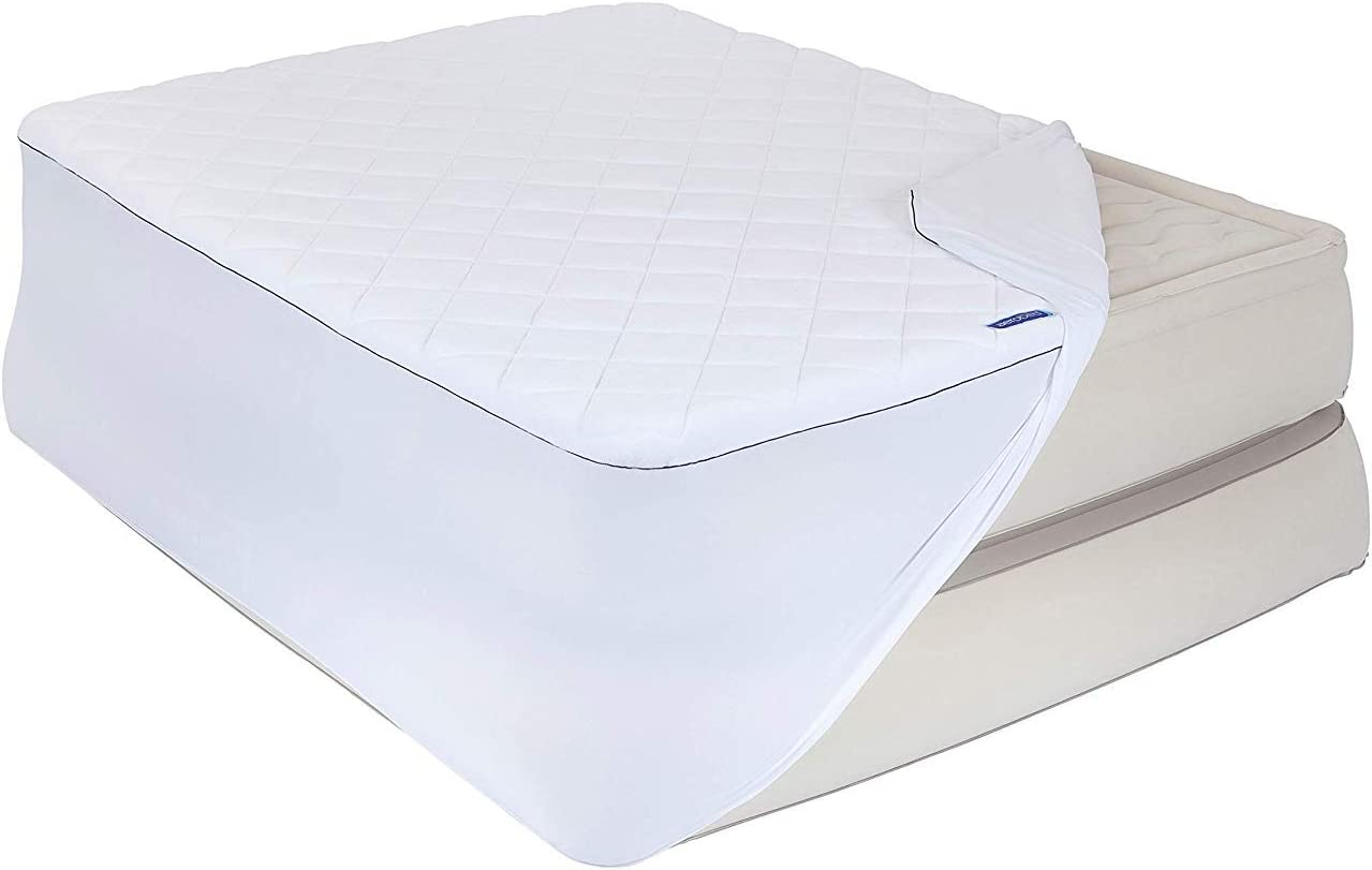 AeroBed Insulated Air Mattress Cover with Antimicrobial Treatment - Fits Up to 18
