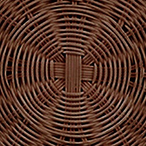 Paja de de Bolso Color Chocolate Retro de Bolsa a Bolso Mensajero Lady Tejido Mano Vintage Verano de Elegante Hombro Playa Biback Ratán wq8xIPRR6