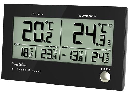 Youshiko Digital Thermometer Hygrometer Humidity
