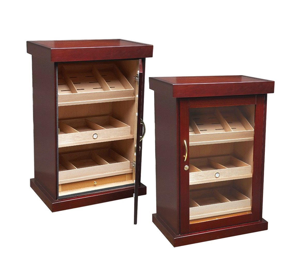 Prestige Import Group 1000 Count Cigar Cabinet Humidor