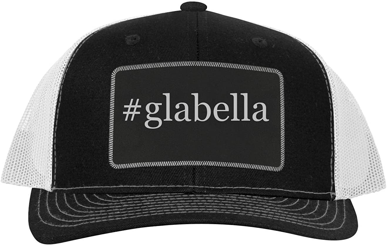 Leather Hashtag Black Patch Engraved Trucker Hat One Legging it Around #bellora