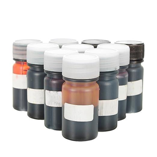EsportsMJJ 10 Colores De Epoxy Resina Uv Dye Resina Colorante Pigmento Líquido Mezcla Colores Bricolaje Arte Manualidades: Amazon.es: Industria, ...