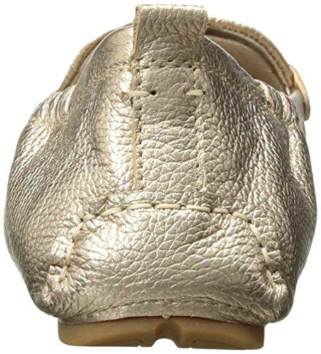 Sam Edelman Donna Mocassino Farrell Dark Gold Oro / Pelle Metallizzata