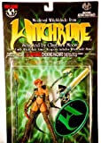 1998 - Top Cow / Moore Action Collectibles - #CM8011 - Medieval Witchblade Exclusive Action Figure - w/ Armor Weapons & Witchblade Stand - 5.5 Inches - Out of Production - New - Mint - Rare - Collect