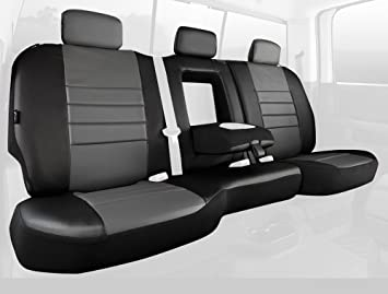 Amazon.com: FIA sl62 – 49 Gris Custom Fit Asiento Trasero ...