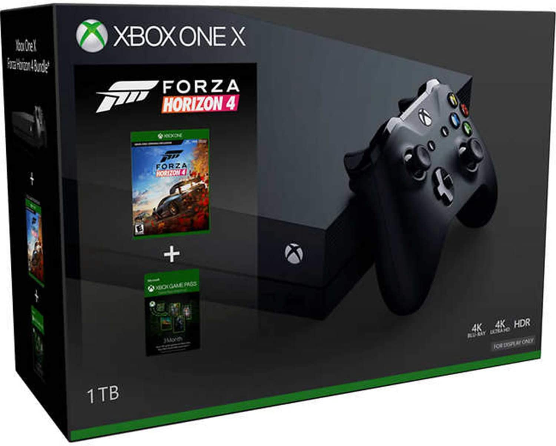 Xbox One X 1TB Forza Horizon 4 Bundle con pase de juego de 3 meses: Amazon.es: Videojuegos