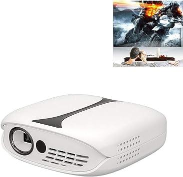 GJZhuan 606 Proyector Inalámbrico WiFi Teléfono móvil Miniatura ...